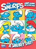 A Smurfy Day! Giant Coloring and Activity Book, Modern Publishing, 076663745X