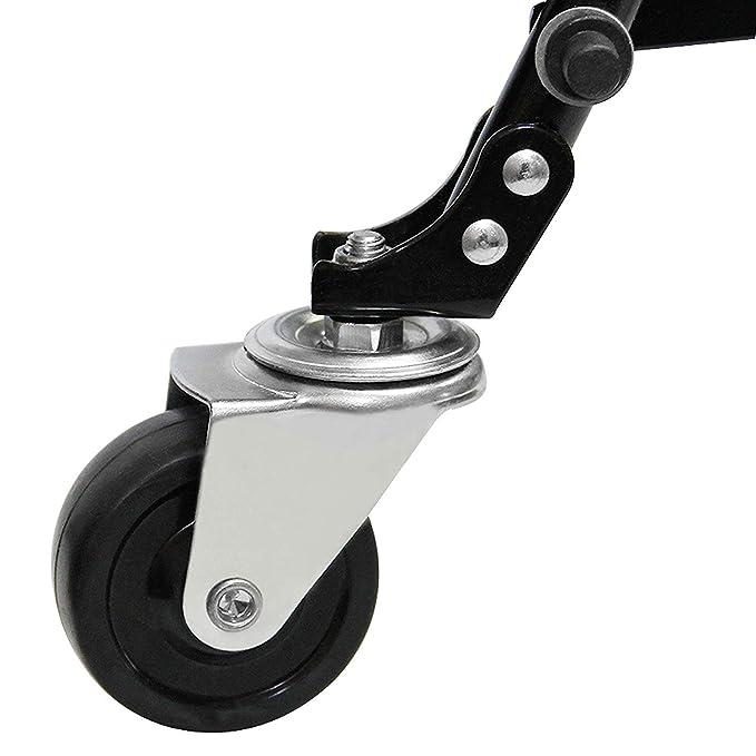 Amazon.com: BLISSUN - Carro de la compra con ruedas ...