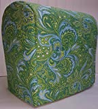 kitchenaid mixer cover blue - Green Blue Paisley Kitchenaid Stand Mixer Cover (Tilt Head, All Paisley)