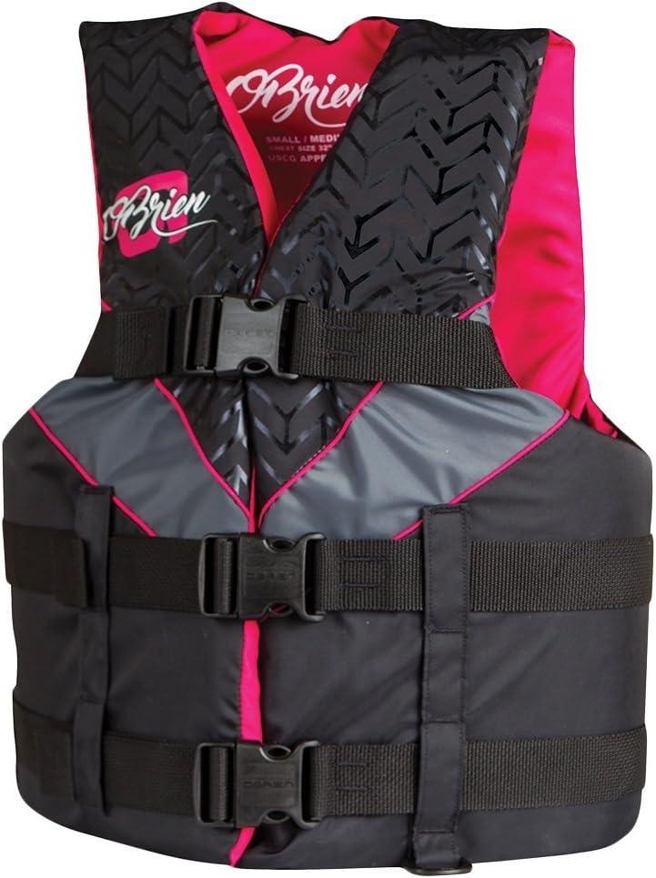 Obrien 3ベルト調節可能なスポーツライフジャケット女性用  Small / Medium