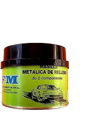 Rugoplast - Masilla de Carrocero Profesional Metálica de Relleno, Multicolor, 350 g