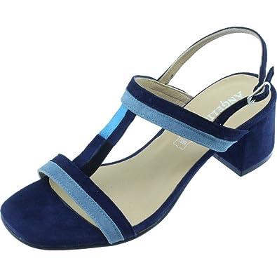 mieux aimé 1c066 e4e70 Angelina® GIVALDI Sandale Plate Graphique Et Ultra-Chics ...