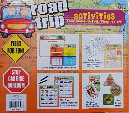 Road Trip - Activities That Make Travel Time