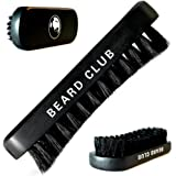 Beard Brush | Premium Quality Boar Bristle | The Best Tool for Beard Grooming | Curved Bristles Help to Easily Shape, Style and Detangle | Designed to Work With Oils, Balms & Waxes
