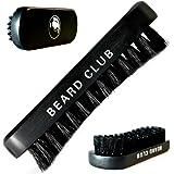 Spazzola da barba | Setole di cinghiale di altissima qualità | Il miglior accessorio per curare la barba | Setole curve per districare facilmente i nodi | Utilizzabile con olii, cere e balsami