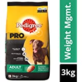 Pedigree PRO Expert Nutrition, Dry Dog Food for Adult Dogs (+2 Years), Weight Management - 3 kg Pack