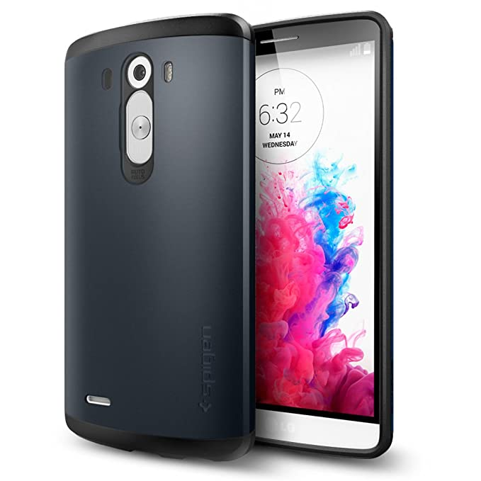 Amazon.com: LG G3 caso, Spigen Slim Armor Variación, Pizarra ...