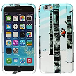 Windowcell Sales (Free Screen Protector From Windowcell) for Iphone 6 4.7inch - Rubberized Design Hard Snap-on Cover - Winter Owl Dp