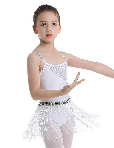 Amazon.com: Agoky - Vestido de danza para niñas con ...