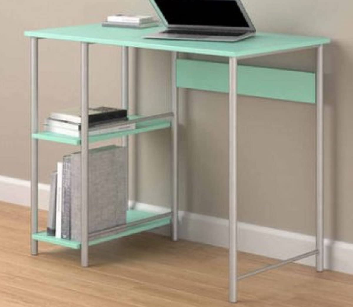 Amazon Com Spearmint Sturdy Metal Frame Laminated Particleboard