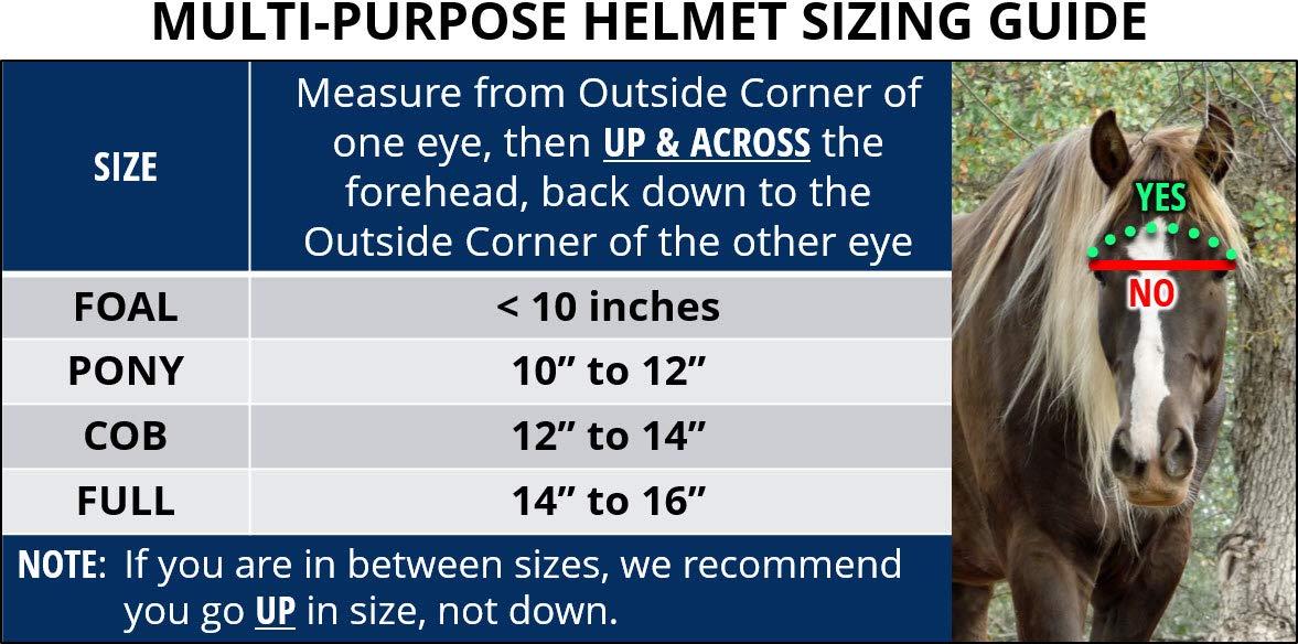 EquiVizor Multi-Purpose Helmet for Horses (Full) by EquiVizor (Image #2)