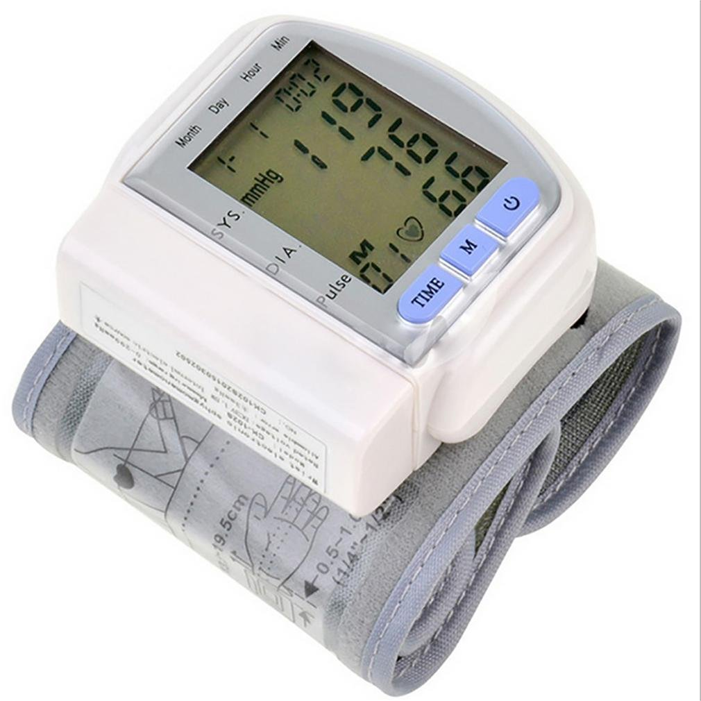 LPY-Wrist Style Portable Automatic Electronic Blood Pressure Monitor Household Intelligent Blood Pressure Measuring Accuracy To Medical Grade Blood Pressure Meter Home Parents Health Gifts Sphygmomanometer