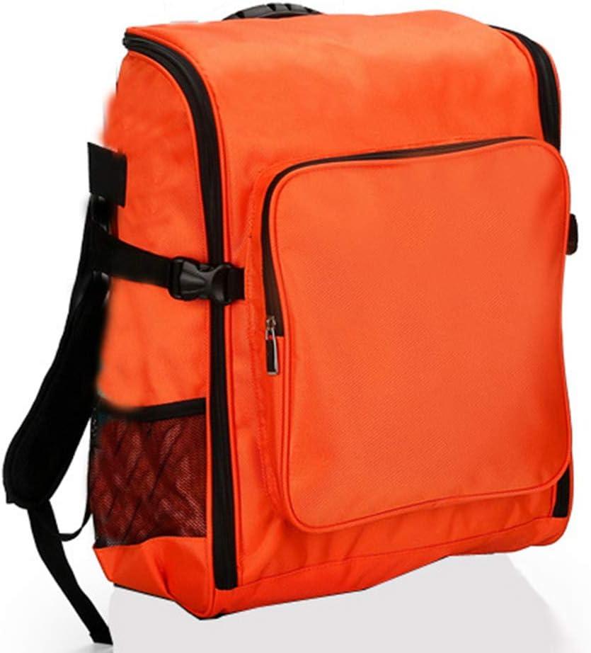 SHKY Empty Medical Survival First Aid Kit, Emergency Bag Responder Trauma Empty First Responder Trauma Bag, for Trip,Car,Home,Kids,Toddler,Classroom,C