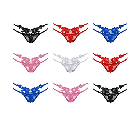 36df04549709 WIN-MARKET Hot&Sexy Women Bandage Thongs V-String Panties Knickers Lingerie  Underwear New (