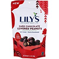 Lily's - Stevia Sweetened 55% Cacao Dark Chocolate Covered Peanuts - 3.5 oz.