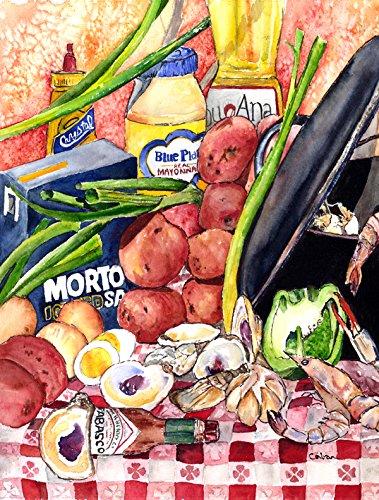 Caroline's Treasures 8825-1CHF Gumbo and Potato Salad Fla...