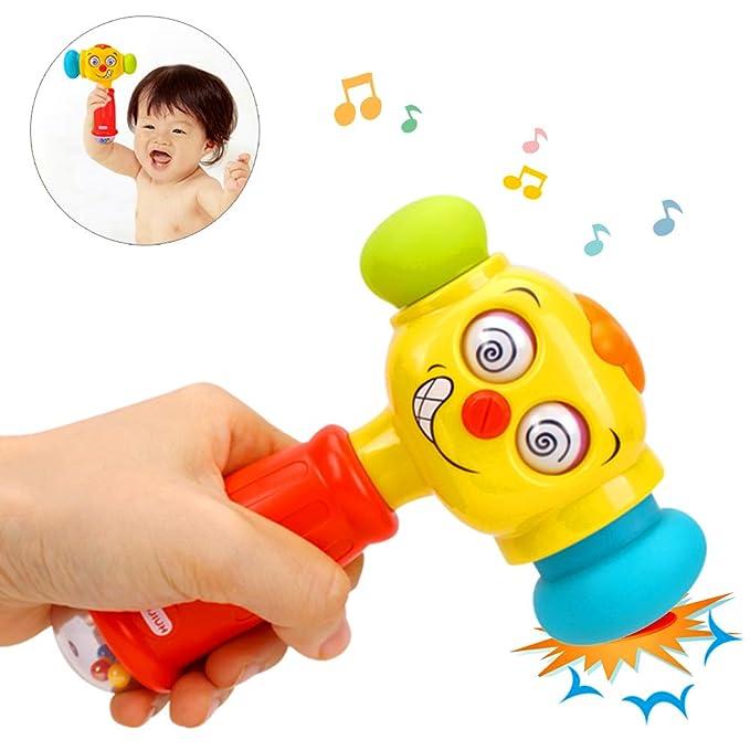 AimdonR - Martillo de Juguete para bebé con Luces de música ...