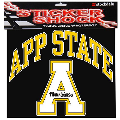 Image of Appalachian State University S93875 Window Decals Décor