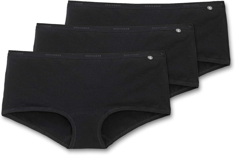 Tai-Slip Shorts SCHIESSER Damen Slips Cotton Stretch 95//5 Basic 3 6 9 Pack