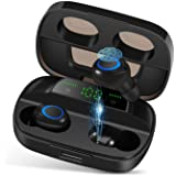 Wireless Earbuds, NEEKFOX IPX7 Waterproof Bluetooth 5.0 Headphones, Deep Bass Stereo Earphones Sports in-Ear Headset 120 Hour