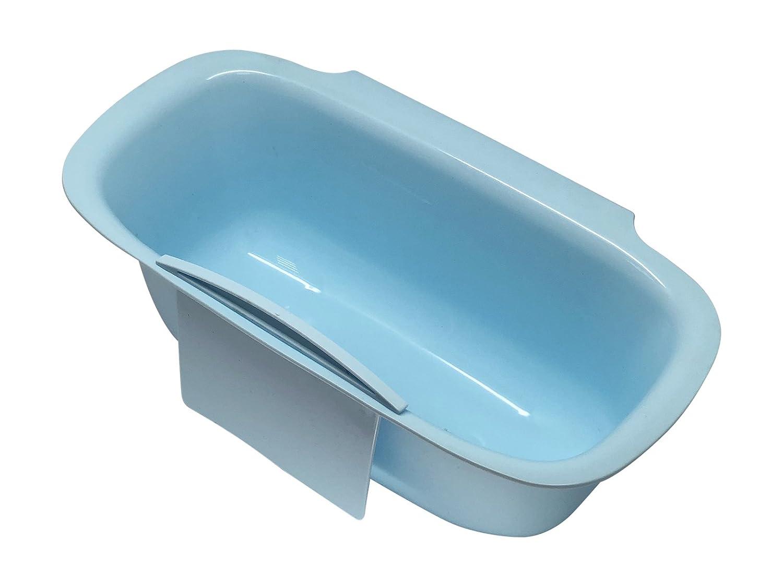 scarlet kitchen Vaschetta per la raccolta dei rifiuti  per cucina (incluso raschietto), da appendere ai cassetti o alle ante dei mobili verde
