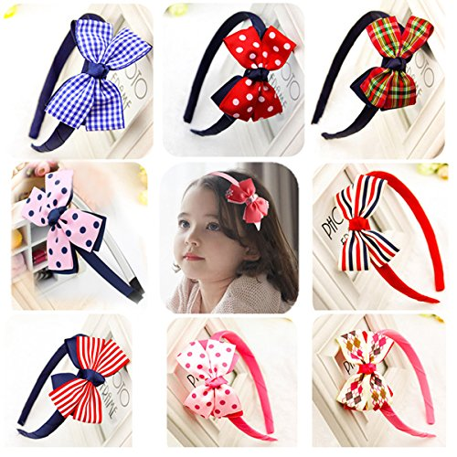 Adorable headbands in a variety of colors