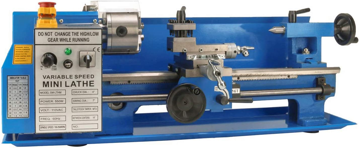 #2 Erie Tools Precision Bench Top Mini Metal Milling Lathe