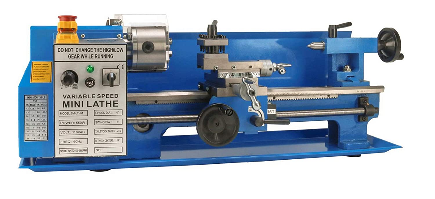 Erie Tools Mini Milling Lathe