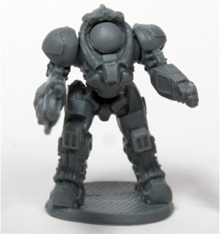 Science Fiction Blackstar Corsair Delta Reaper Miniatures Chronoscope Bones