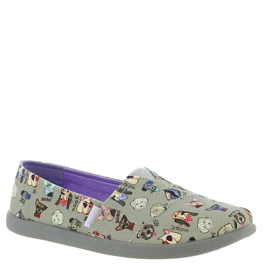 12H M US Little Kid Skechers Kids Girls SOLESTICE 2.0-WOOF-Tastic Sneaker Grey