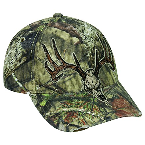 Mossy Oak Mossy Oak Break-Up Country Camo Deer Skull Logo Cap