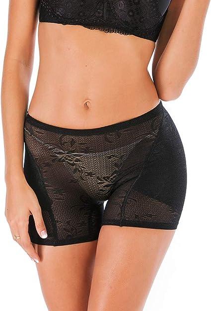 DODOING Tummy Control Panty High Waist Padded Butt Lifter Underwear Shaper Slim Panties