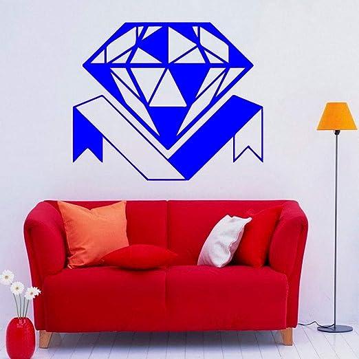 yaoxingfu Adhesivo de Pared de Diamantes Adorno de joyería ...