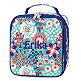 School Insulated Lunch Bag Camp Daycare (Personalized, Garden Party)