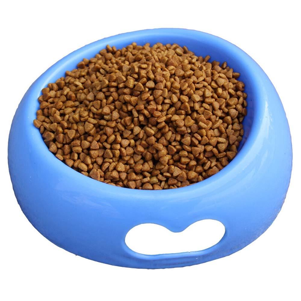 bluee Unicco inc. Pet Bowl Cat Bowl Dog Pot Dog Cat Bowl Pet Food Bowl Bowl Bowl Cat and Dog Rice Bowl Pet Supplies pet Toy (color   bluee)