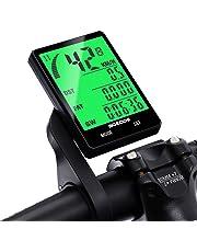 SGODDE Ordinateur de Vélo avec Fil, Compteur de Vitesse Vélo avec Fil Étanche 2.8'' Écran Rétroéclairé 16 Fonctions Inclus Compteur de Distance, S'éveille Automatiquement pour Les vélos 25-31.5mm