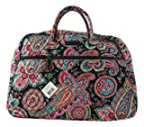 Vera Bradley Grand Traveler Bag (One Size, Parisian Paisley/ Black Interior)