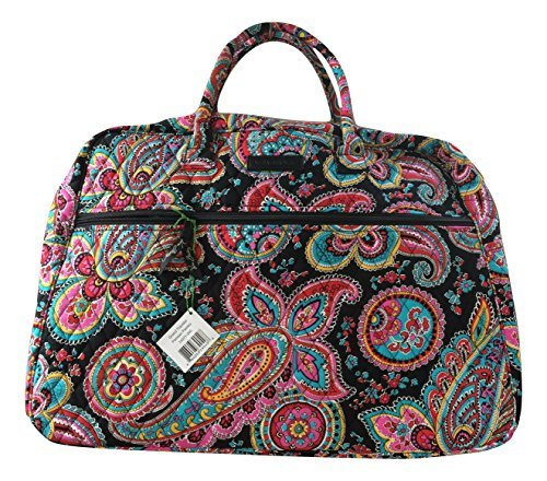 Vera Bradley Grand Traveler Bag (One Size, Parisian Paisley/ Black Interior) by Vera Bradley