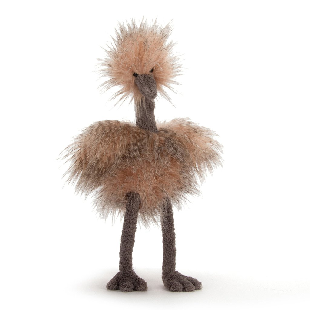 amazon com jellycat mad pet odette ostrich medium 20 inches
