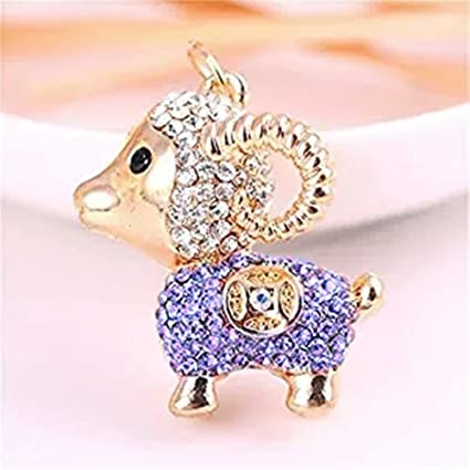 JewelBeauty - Llavero con diseño de oveja de oveja y monedas ...