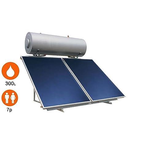 Agua caliente solar 2 sensores + Balón 300 litros – eklor