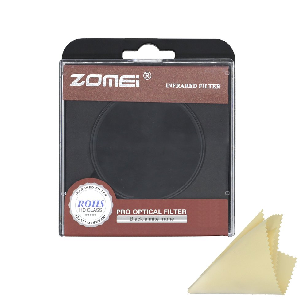Zomei IR Infrared filter Compatible with Pentax Olympus Samsung DSLR Cameras (67mm, 760nm)