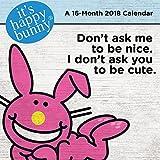 It's Happy Bunny 2018 Mini Wall Calendar