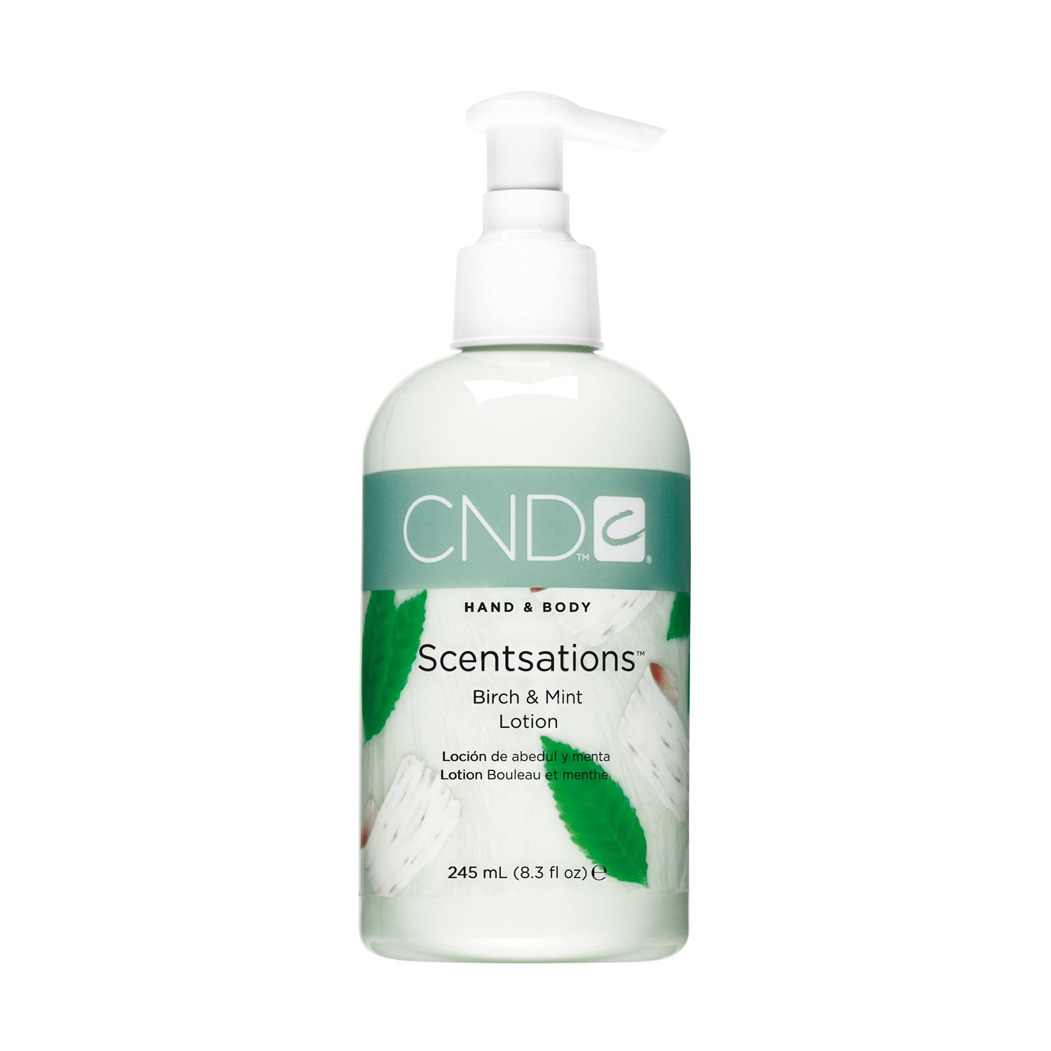 CND Scentsations Birch and Mint Hand and Body Lotion - 8.3 oz CREATIVE NAIL DESIGN INC 511305