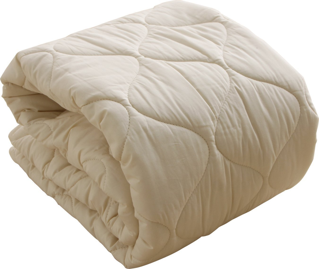 IRIS PLAZA フランス産 ウォシャブルウール100% ベッドパット 10BP850-SIR