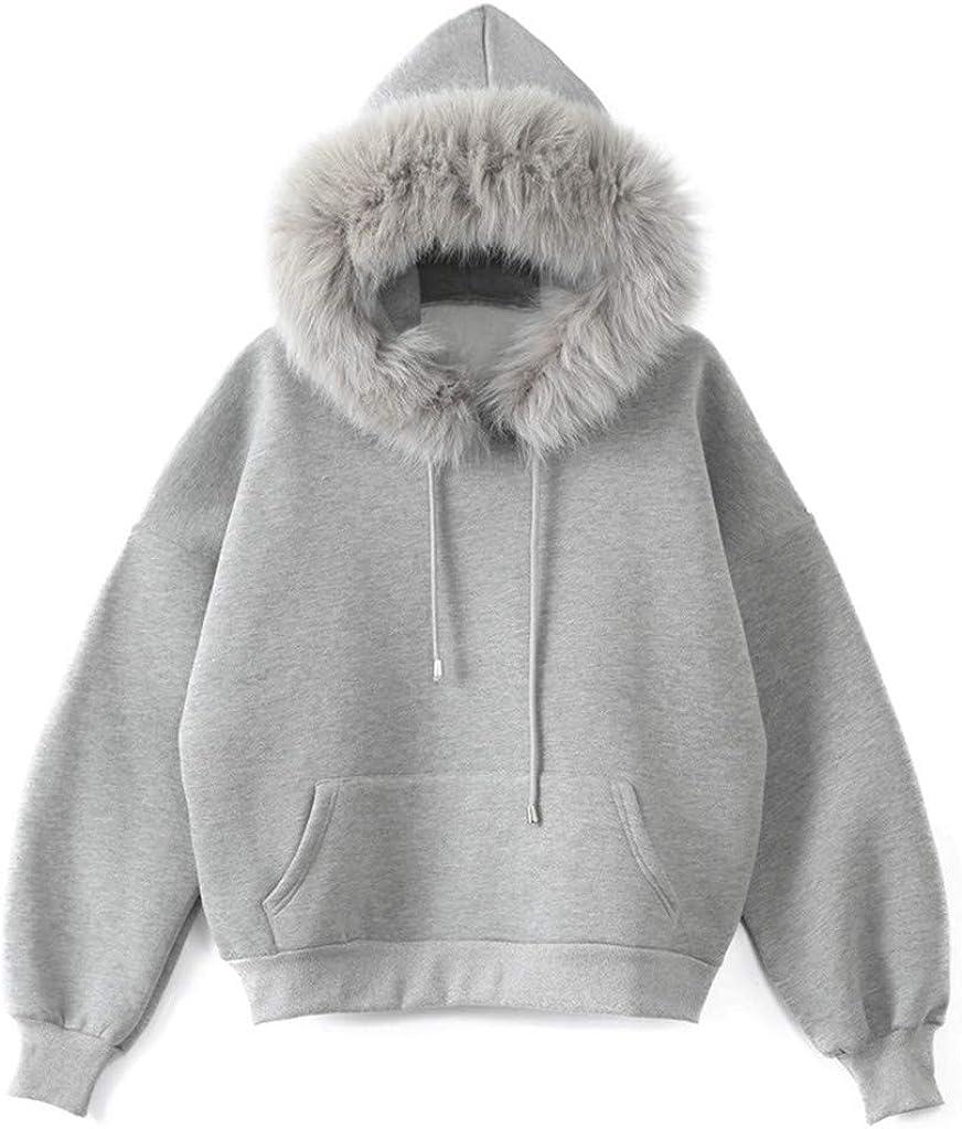 Yezijin Women Casual Long Sleeve Plaid Crop Faux Sweatshirt Coat Top Blouse 2019 New