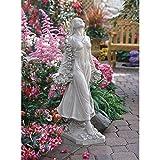 Design Toscano Flora Divine Patroness of Gardens Statue in Faux Stone For Sale