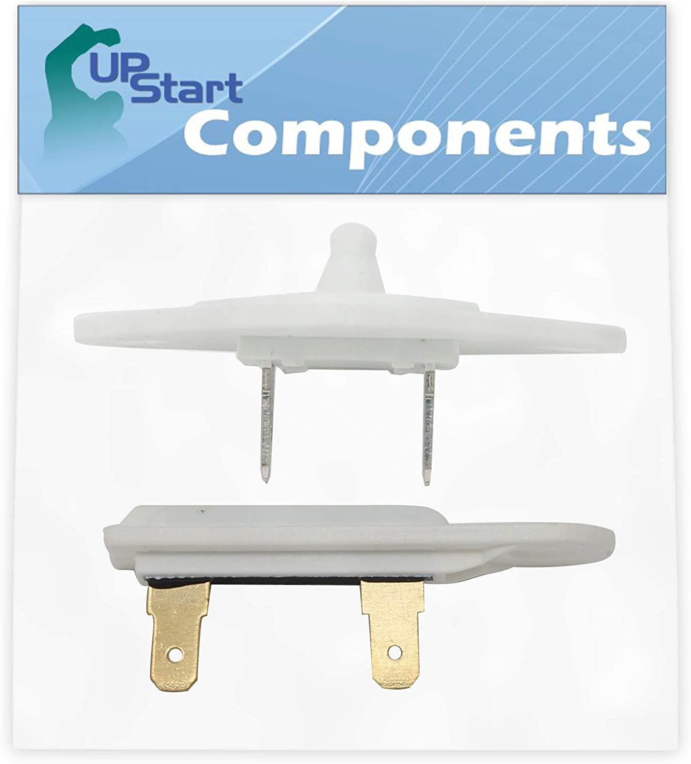 8577274 Dryer Thermistor & 3392519 Thermal Fuse Replacement for Whirlpool WGD5500XW0 Dryer - Compatible with 3976615 WP8577274 Thermistor & WP3392519 Thermal Fuse - UpStart Components Brand