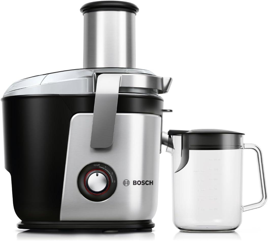 Bosch MES4010 Entsafter, Aluminium, schwarzsilber
