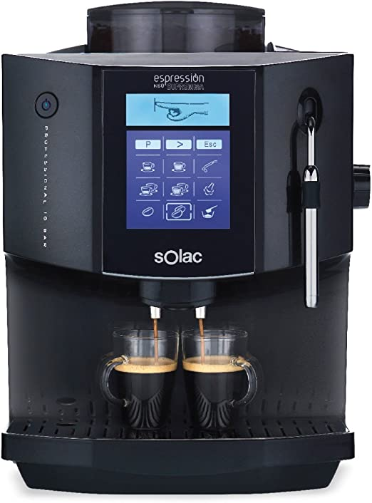 Solac CA 4816, LCD, Negro - Máquina de café: Amazon.es: Hogar